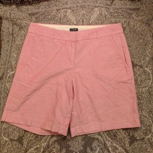 ⭐NWT J. Crew linen city fit shorts size 2
